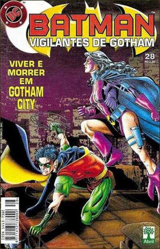 Imagem 1 de 1 de Batman Vigilantes De Gotham 28 Robin Caçadora