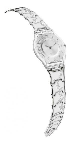 Reloj Climber Flowery Plateado Swatch