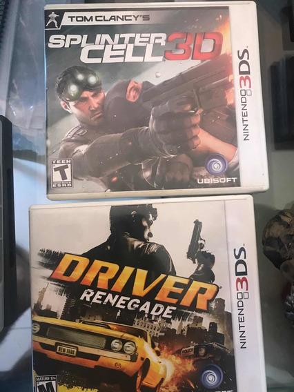 Splinter Cell E Driver 3ds