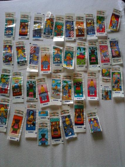 Lote Com 37 Figurinhas Bananas De Pijamas (ginga, 1998)