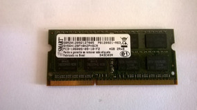 Memória Sony Vaio Ddr3 Pc3-10600s 1333mhz 4gb P/notebook