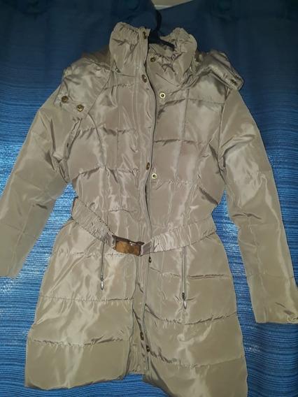 Campera Zara Girls Oro Outerwear Collection 4/5 Años
