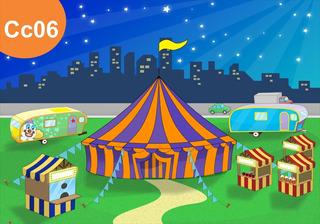 Painel Lona Festa Circo