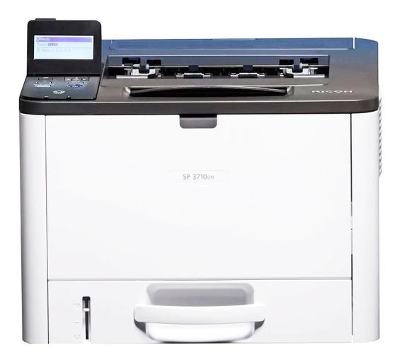 Impressora Ricoh Sp-3710dn Sp3710 Sp3710dn 3710 Sp-3710 Rede