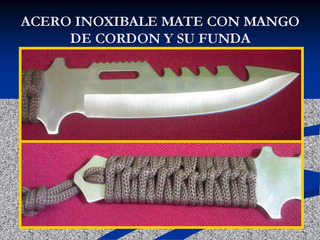 Al Mayor Cuchillo Utensilio Supervivencia Militar Tactico