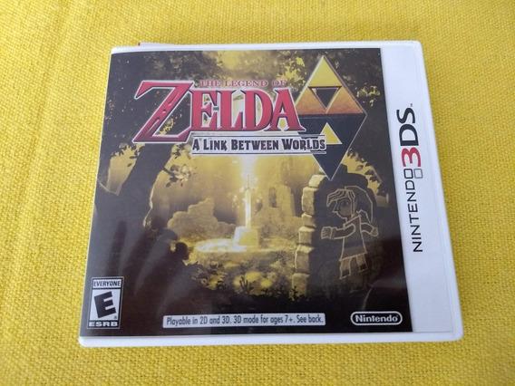 Zelda Link Between Worlds 3ds Americano Frete Grátis Cr!!
