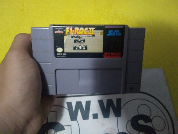 Super Nintendo - F1 Roc 2 100%original