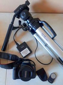 Kit Camera T5i + Lente 18 55mm + Tripé + Controle