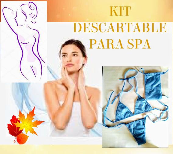 Kit Descartable Para Spa