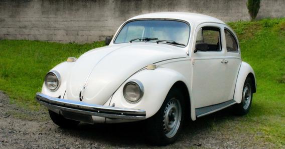 Fusca 1979 Branco Motor 1300 Volkswagen