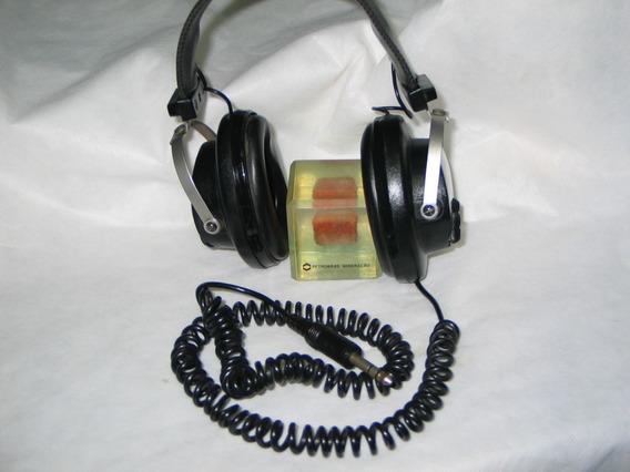 Magnovoz Mod Dh-900 C/vol E Tone Fone Ouvido -akai-pioneer-