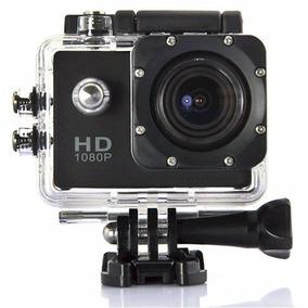Mini Câmera Filmadora Sports Cam Hd 1080p Prova D`água 30m