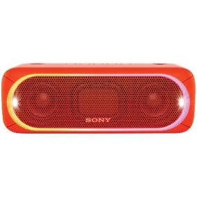 Caixa De Som Bluetooth Srs-xb30/r Vemelha