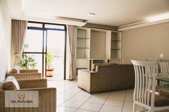 Apartamento Com 4 Dormitórios À Venda, 120 M² Por R$ 456.000 - Bosque Dos Eucaliptos - São José Dos Campos/sp - Ap0452