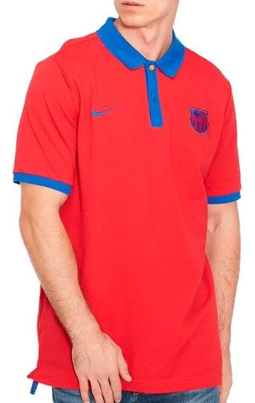 Playera Polo Fc Barcelona Core Hombre Nike Nk183