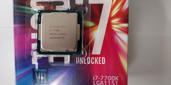 Intel Core I7 7700k Delid (garantia Intel Até 04/2020)