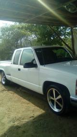 Chevrolet Silverado 8 Cilindros 4x2 Cabina Y Media Blanca Mo