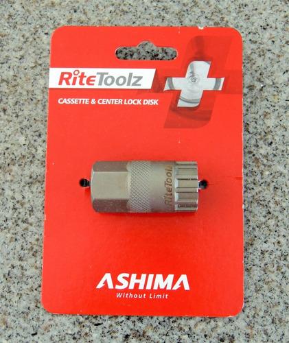 Imagen 1 de 3 de Ashima, Herramienta Para Lockring Del Cassette Y Centerlock