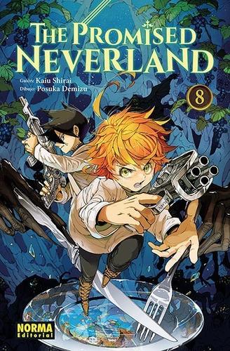 Imagen 1 de 1 de Manga The Promised Neverland Tomo 08 - Norma Editorial