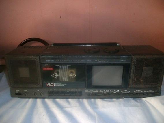 Alc - Tv/radio/cassette Portátil - Gpx Modelo No.tv3 - Usado