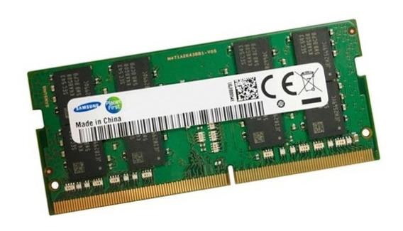Memoria Sodimm 8gb Ddr4 2666mhz Samsung Notebook Garantía