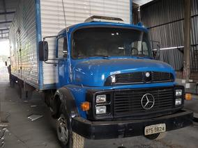 Caminhão Mb 1113 6x2 Bau 11,00 Mts - Ano 1973
