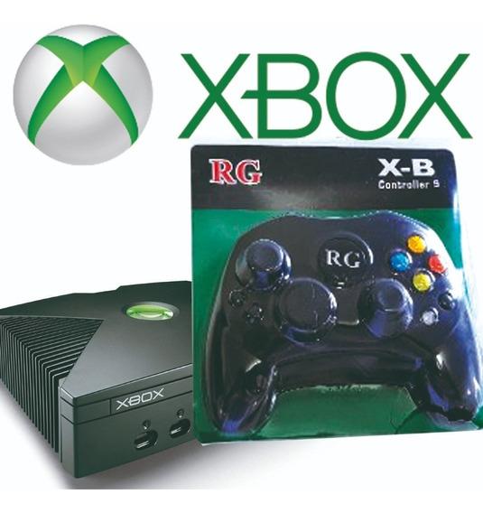 Controle Xbox Antigo Clássico Lacrado