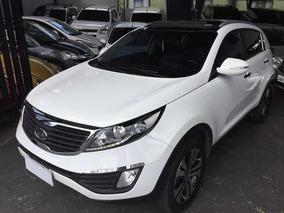 Kia Sportage Ex 2.0 4x2 Flex Aut.2012 Branco Com Teto Solar