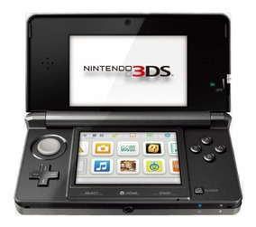 Nintendo 3ds, Preto Com Cartão De 2gb, Frete Grátis