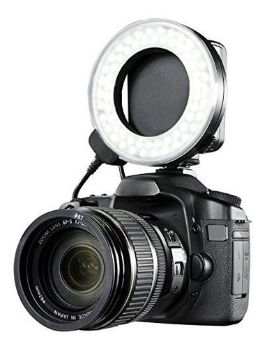 Canon Eos 5d Mark Ii Dual Macro Anillo De Luz Ledflash Apli