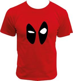 Playera De Deadpool Face Marvel Comics