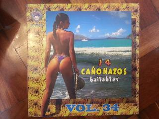 Disco, Vinilo O Acetato: Catorce Cañonazos Vol.34