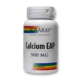 Calcium Eap Aep 500mg 60 Cápsulas Solaray