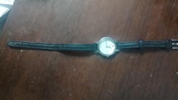 Relógio Analógico Feminino Timex Couro