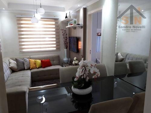 Apartamento Com 2 Dormitórios À Venda, 63 M² Por R$ 240.000 - Jardim São Domingos - Guarulhos/sp - Ap0237