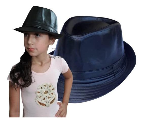 Chapéu Fedora Malandro Infantil 7 A 15 Anos Michael Jackson