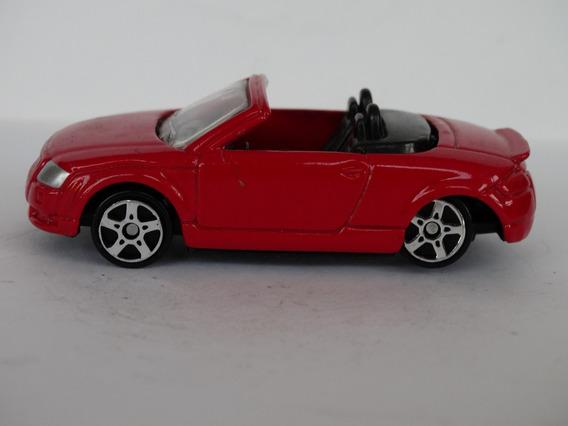 Audi Tt Roadster Vermelho - Maisto - 1:64 - Loose