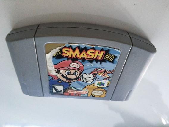 Super Smash Bros. - Nintendo 64 - Cartucho Original