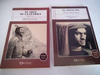 Paquete Arte De La Guerra + Principe De Maquiavelo