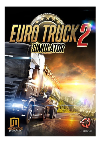 Imagen 1 de 3 de Euro Truck Simulator 2 SCS Software PC Digital