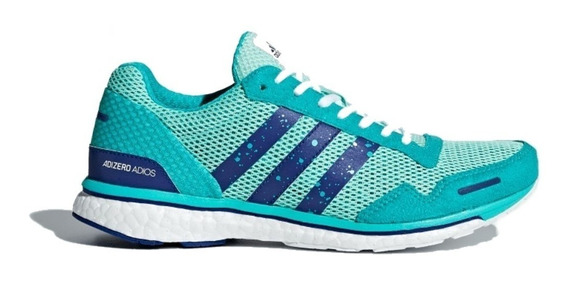 Tênis adidas Adizero Adios Boost 3 Azul Feminino