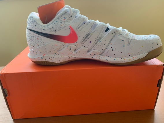 Tenis Nike Air Zoom Vapor X Hc -white/laser Crimson Blanc