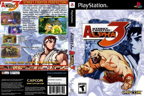 Street Fighter Alpha 3 Para Playstation 1 - Patch