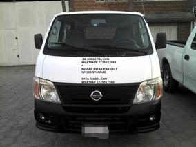 Nissan Urvan 2.4 Lts 12 Pasageros Tela*hay Credito
