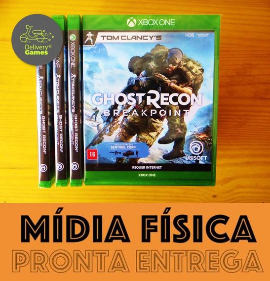 Ghost Recon Breakpoint Xbox One Mída Física Novo Lacrado
