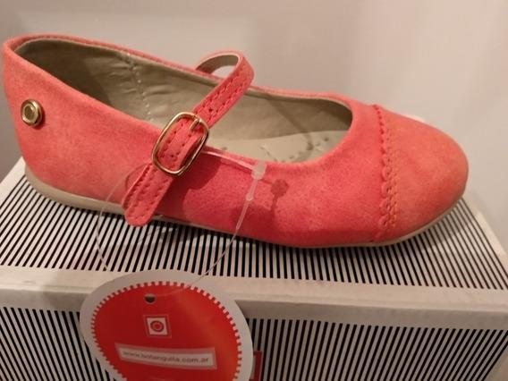 Zapatos Guillermina Nena Coral Botanguita