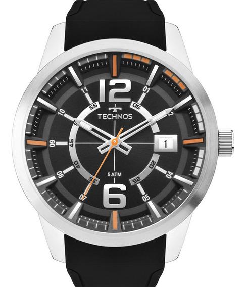 Relógio Technos Masculino Racer Prata 2315kzx/0p