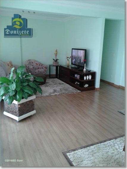 Apartamento Com 3 Dormitórios À Venda, 126 M² Por R$ 820.000,00 - Casa Branca - Santo André/sp - Ap1580