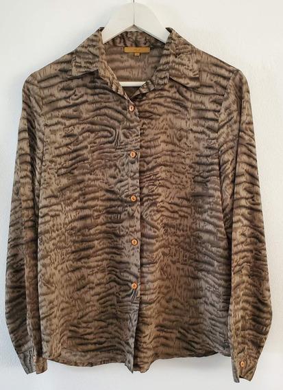 Camisa Animal Print Fel2