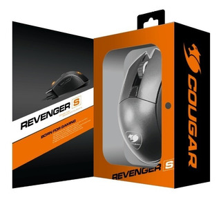Cougar Mouse Gamer Revenger S Rgb Color Negro